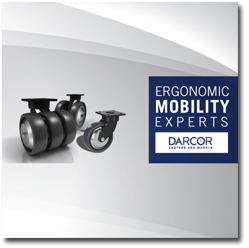 Ergonomics Mobility K Caster series Darcor