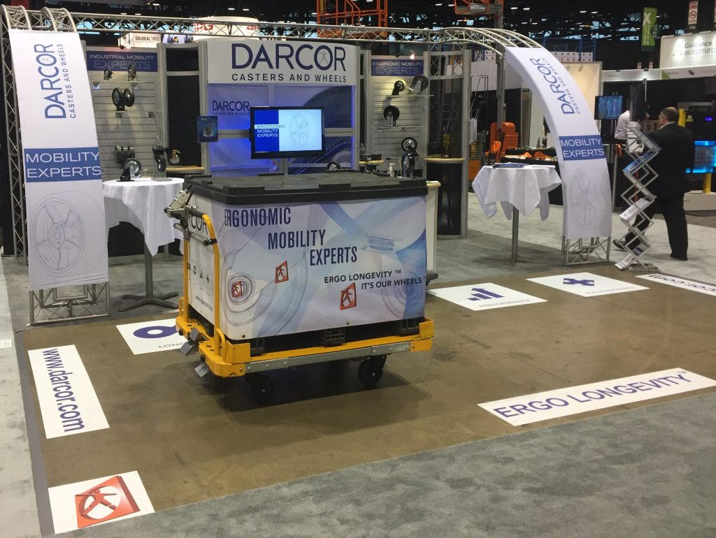 ProMat 2017 Darcor casters